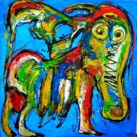 green Cow 100x100